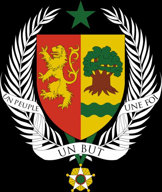State coat of arms of Senegal
