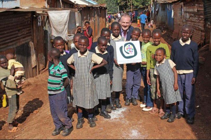 TV presenter Frank Plasberg supports Shangilia