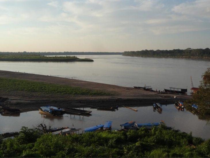 The Río Beni near Riberalta