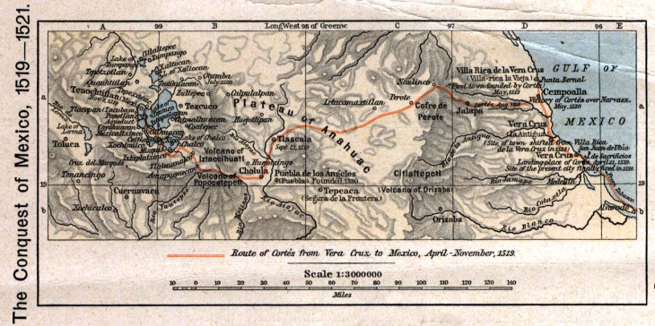 The Route of the Spanish Conquerors