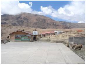 The rural school in Chacahuaya