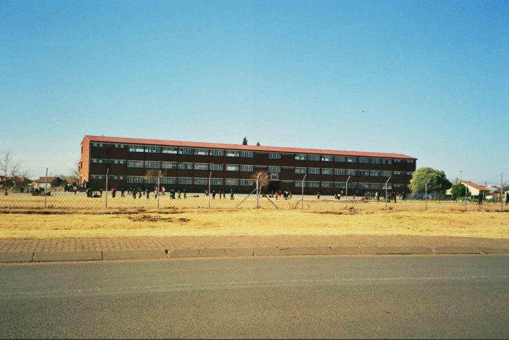 Township school in the east of Johannesburg