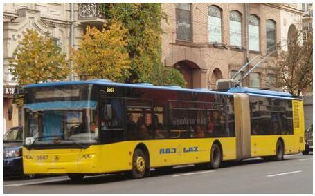 Trolleybus LAZ