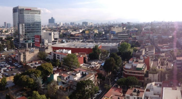View over Mexico City