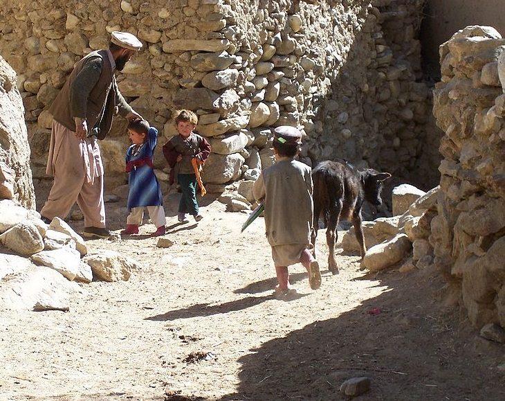 Village scene from Warwarzu Afghanistan