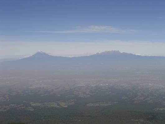 Volcanoes near Mexico City