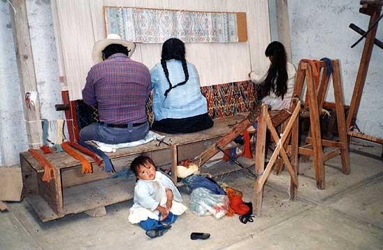 Weavers' cooperative