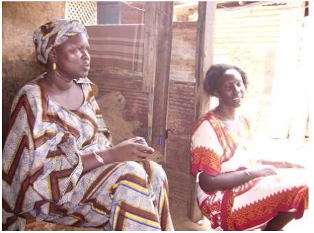 Wolof women in Dakar