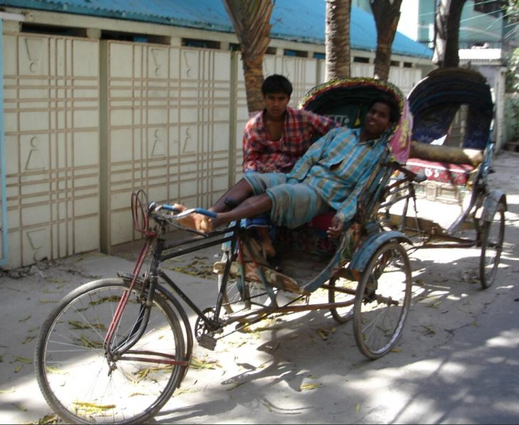 Working as a rickshaw driver is a seasonal income for many, for which they temporarily move to a city