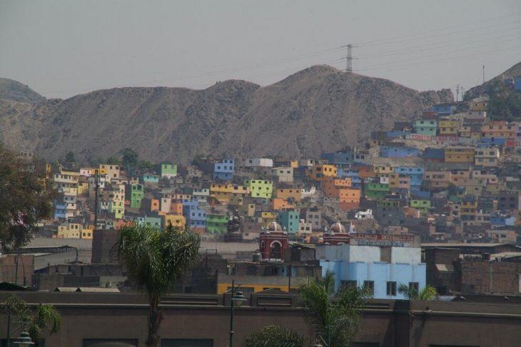 slum in Lima