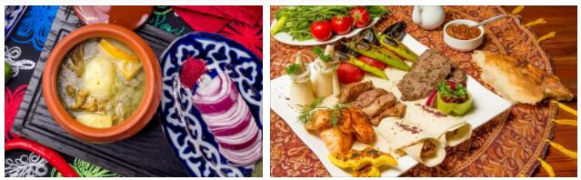 Eating in Azerbaijan