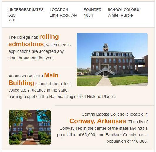 Arkansas Baptist College History