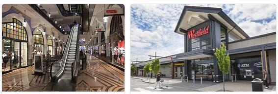 Australia Shopping malls