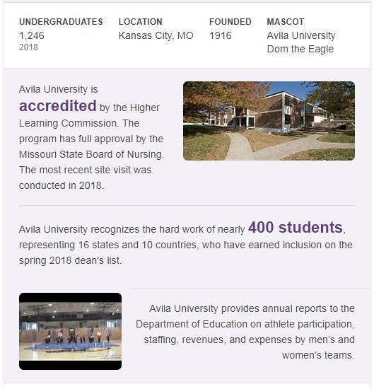 Avila University History