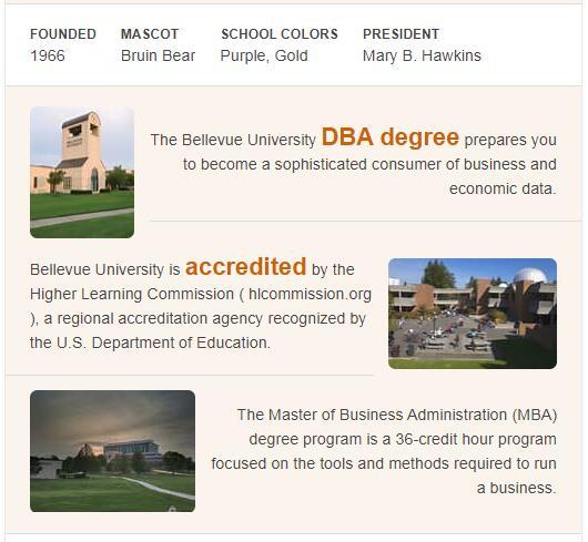 Bellevue University History
