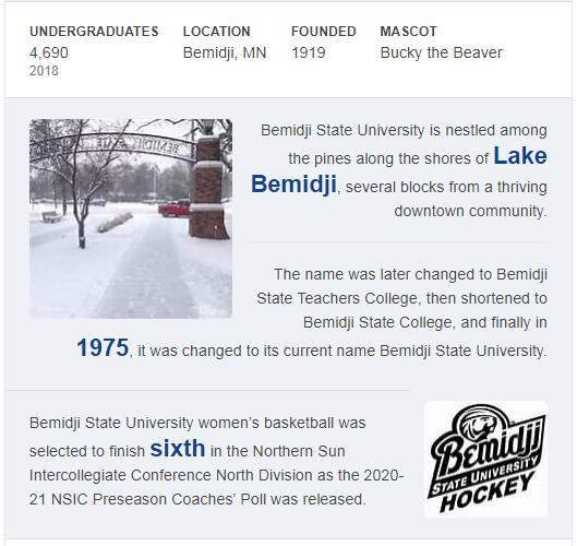Bemidji State University History
