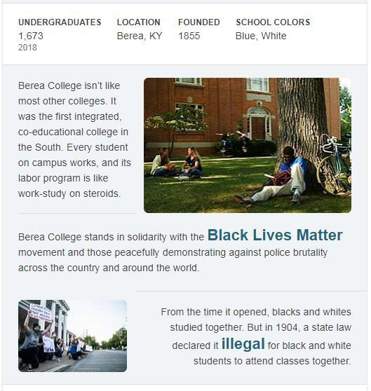 Berea College History