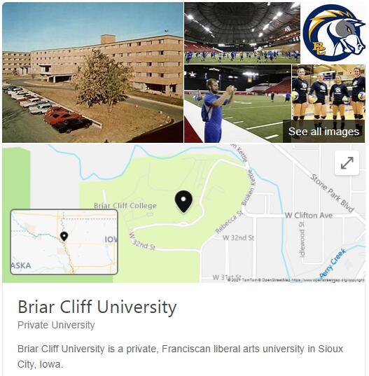 Briar Cliff University History
