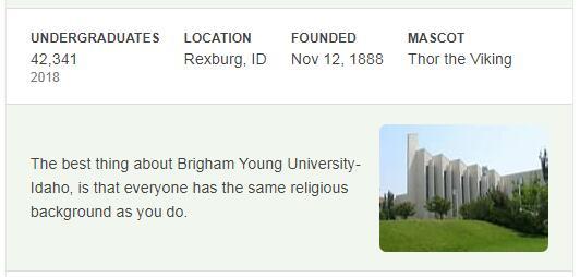 Brigham Young University-Idaho History