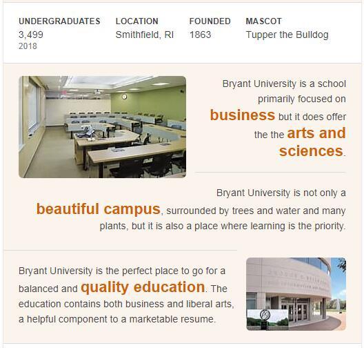 Bryant University History