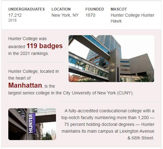 CUNY-Hunter College History