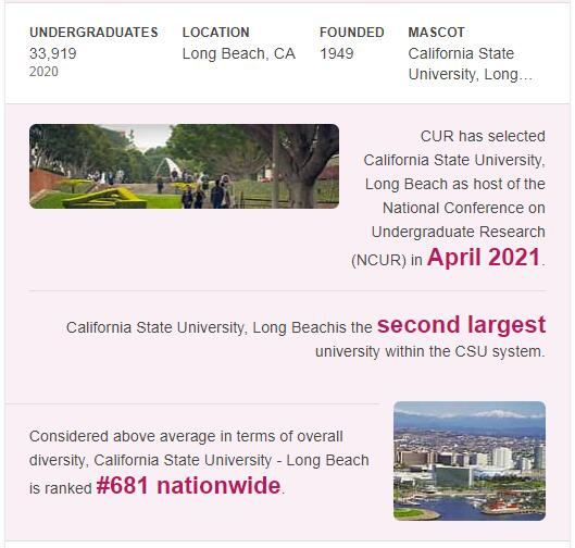 California State University-Long Beach History