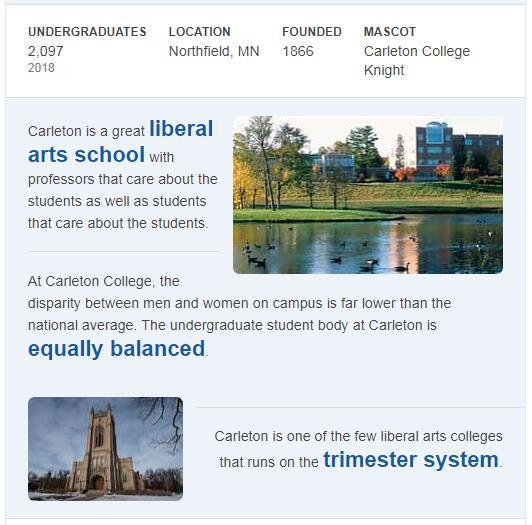 Carleton College History
