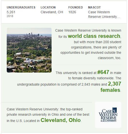 Case Western Reserve University History