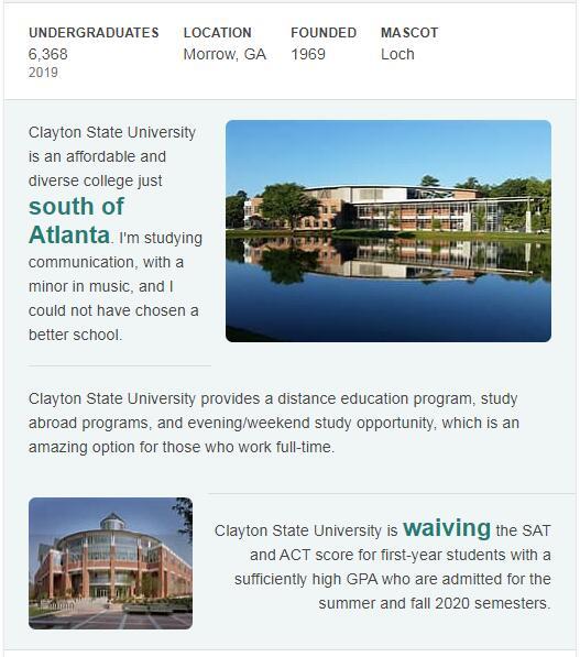 Clayton State University History