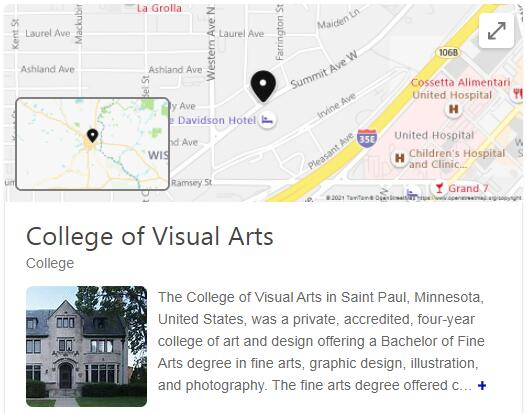 College of Visual Arts History