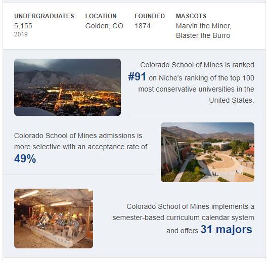 Colorado School of Mines History