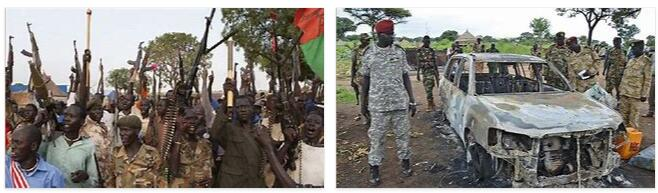 Conflicts in Sudan and South Sudan