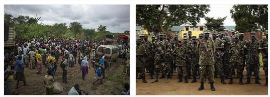 Conflicts in Uganda