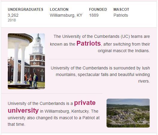 Cumberland University History