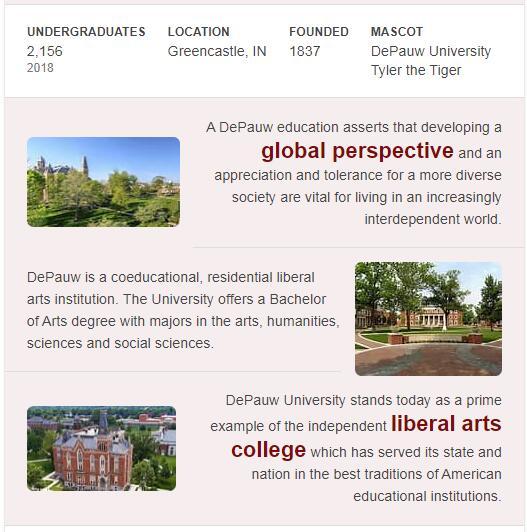 DePauw University History