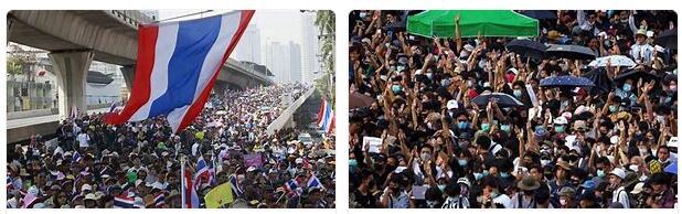 Demonstrations in Bangkok