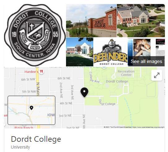 Dordt College History