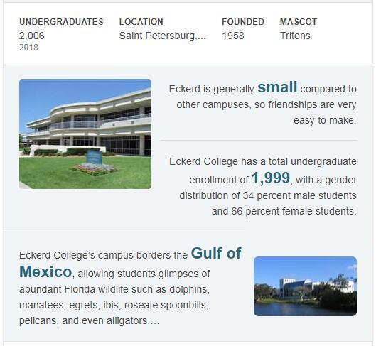 Eckerd College History