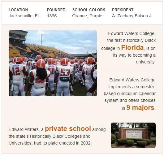 Edward Waters College History