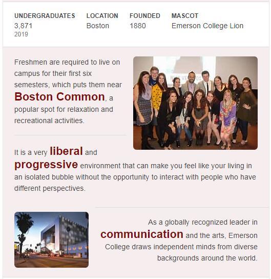Emerson College History