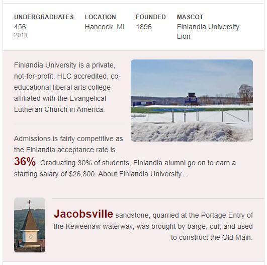 Finlandia University History