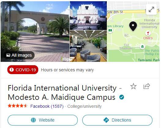 Florida International University History