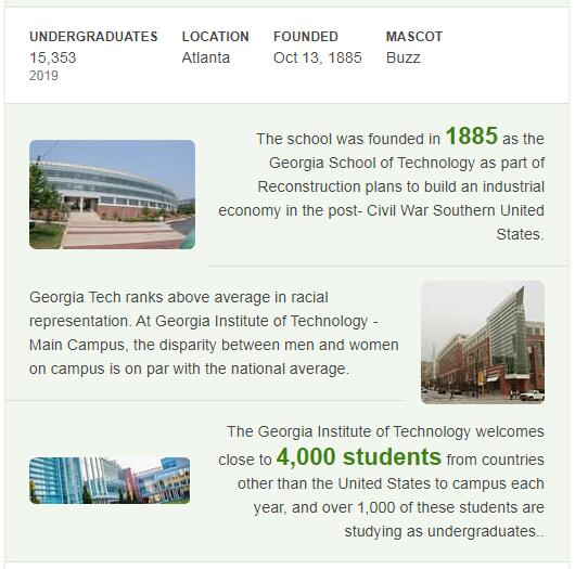 Georgia Institute of Technology History