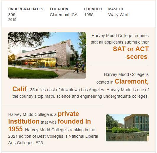 Harvey Mudd College History