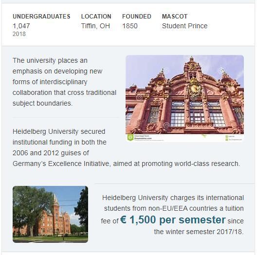 Heidelberg University History