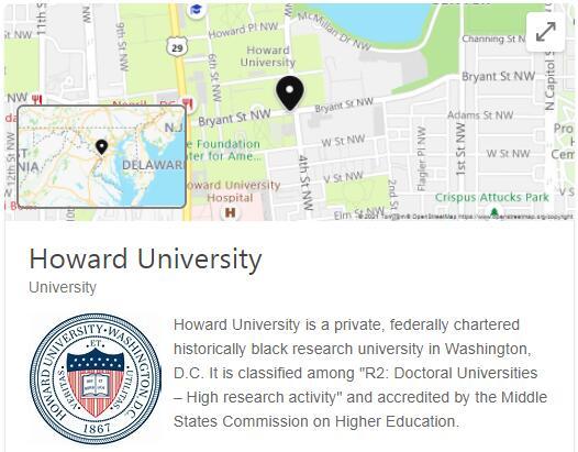 Howard University History