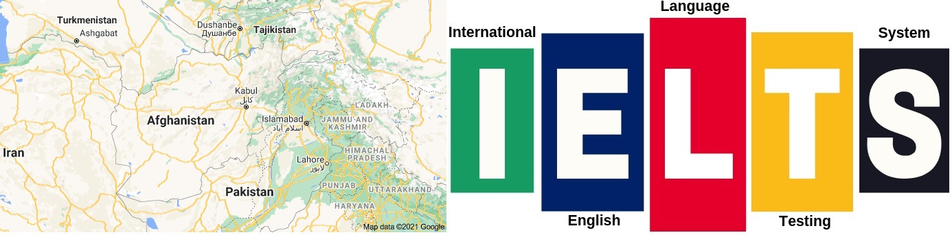 IELTS Test Centers in Afghanistan