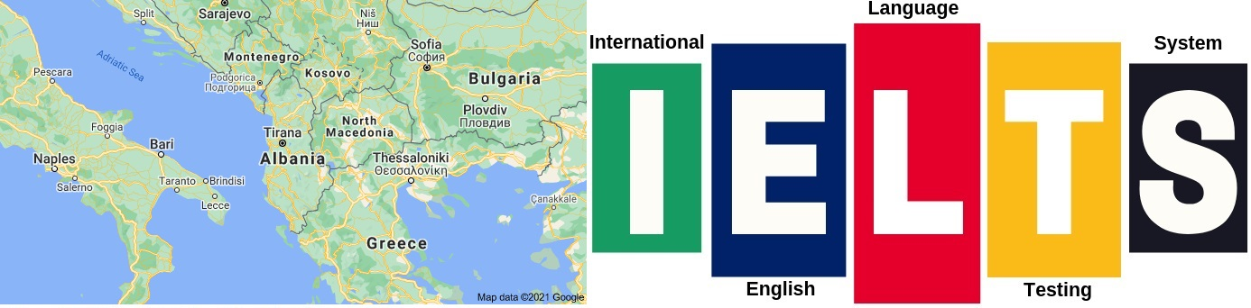 IELTS Test Centers in Albania