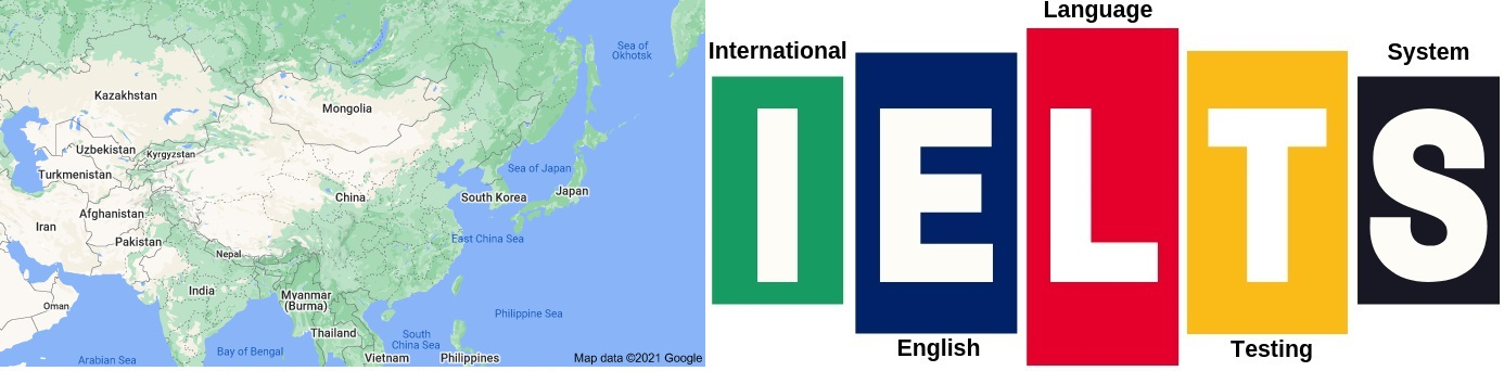 IELTS Test Centers in China