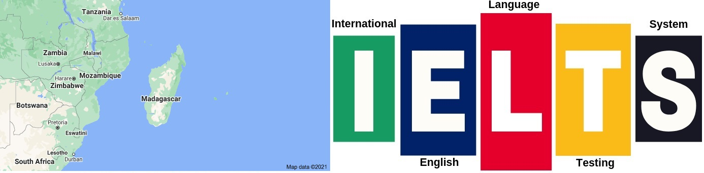 IELTS Test Centers in Madagascar